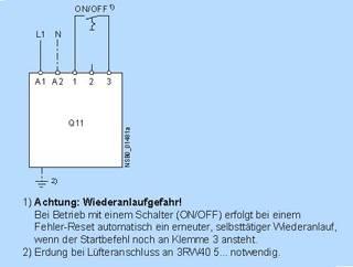 Схема подключения 3rw30