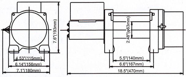 DW8000 - схема лебедки